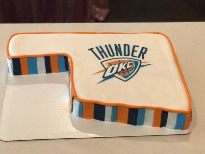 thunder grooms cake