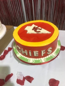 chiefs grooms cake
