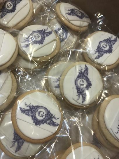 Monogram cookie