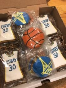 basket ball cookies