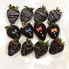 decorated choc. strawberries